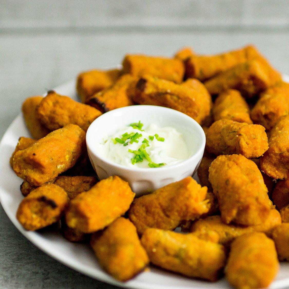 Süßkartoffel Kroketten