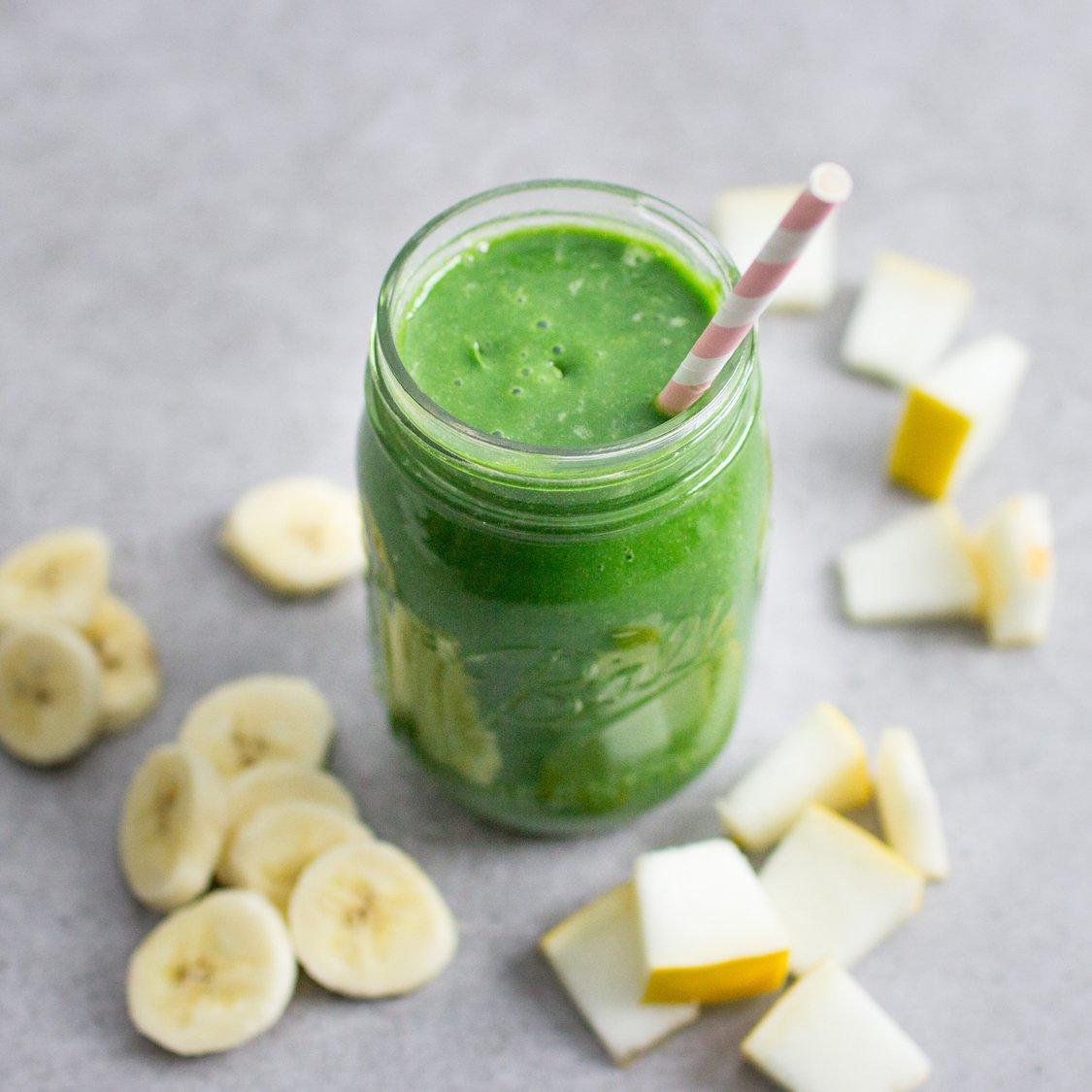 Bananen Melonen Smoothie