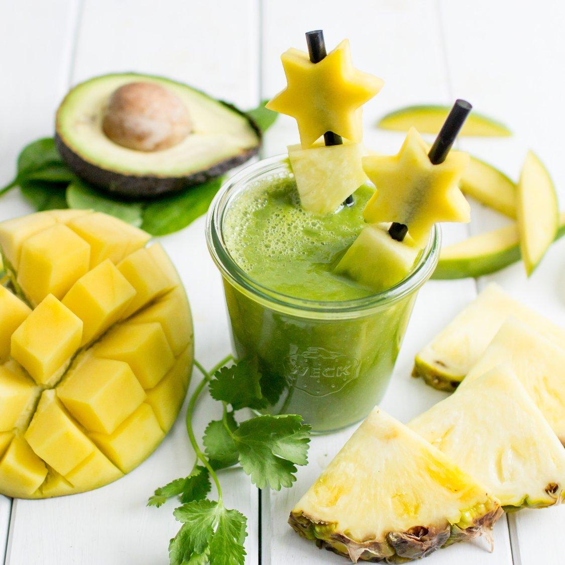 Mango Koriander Smoothie