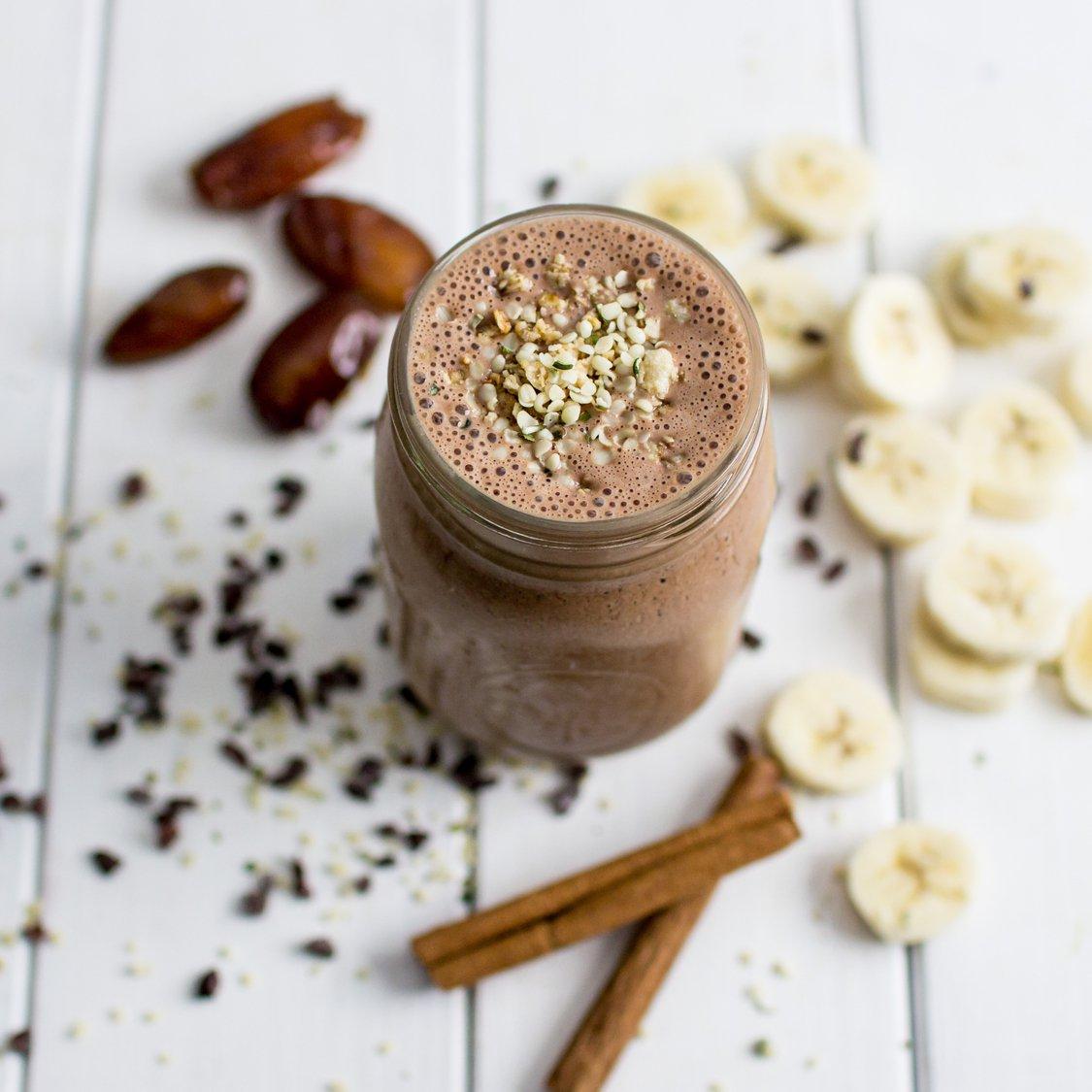 Kakao Hanf Smoothie