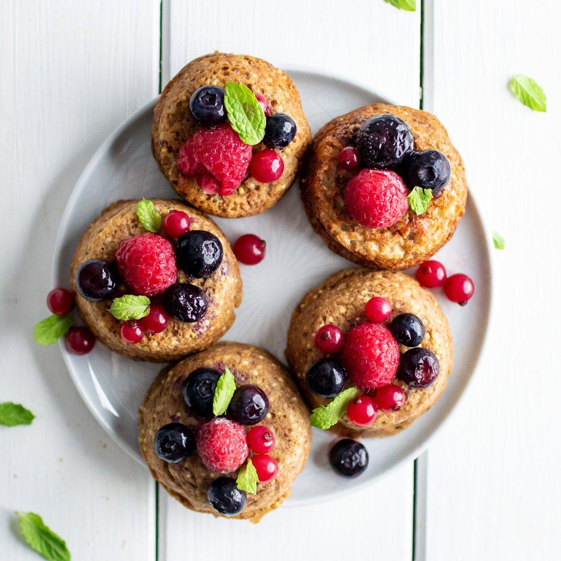 Hirse-Walnuss-Muffins