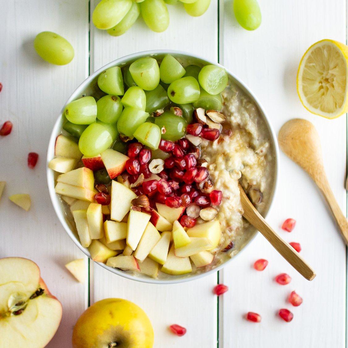 Müsli mit Cranberry und Apfel