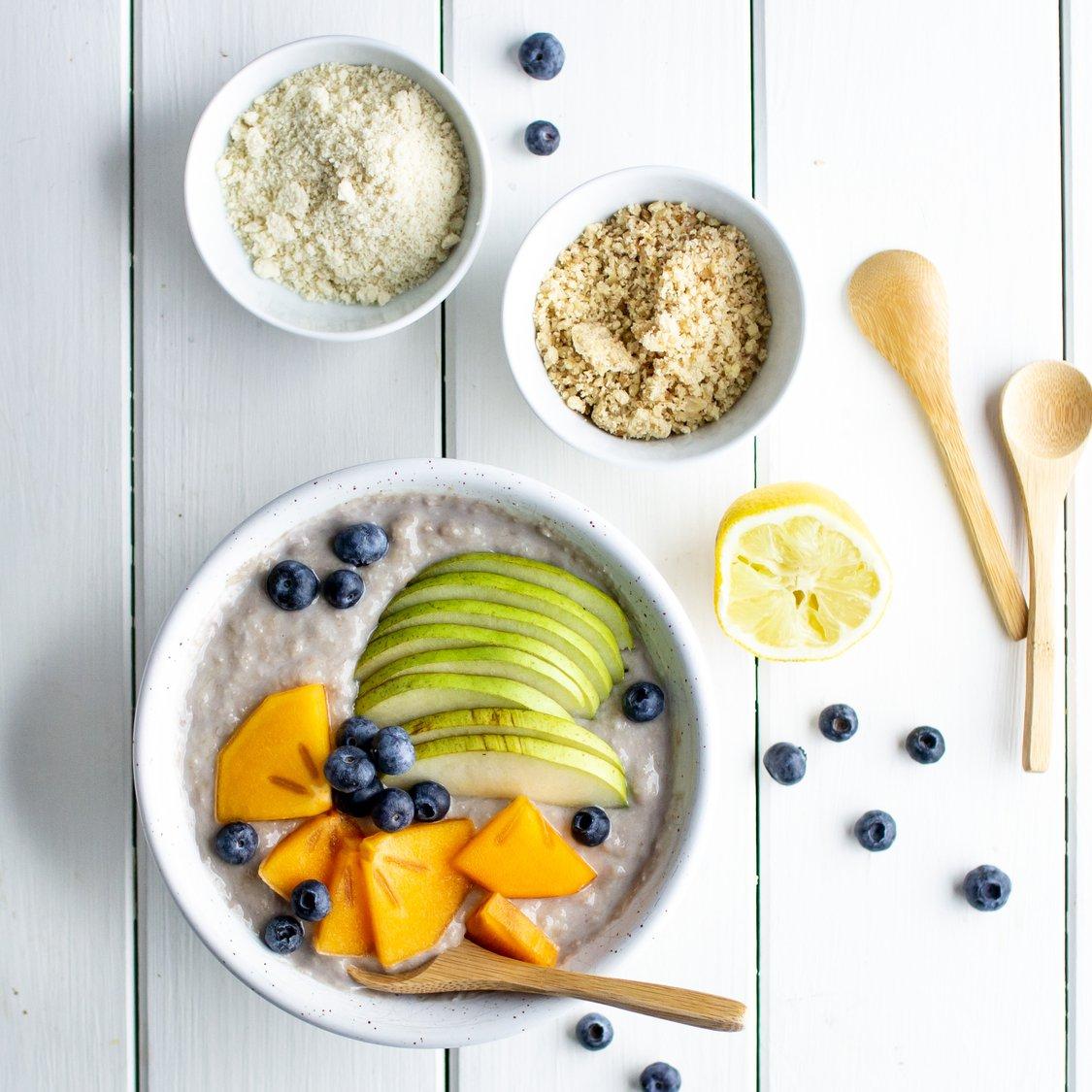 Joghurt-Walnuss-Bowl mit Banane