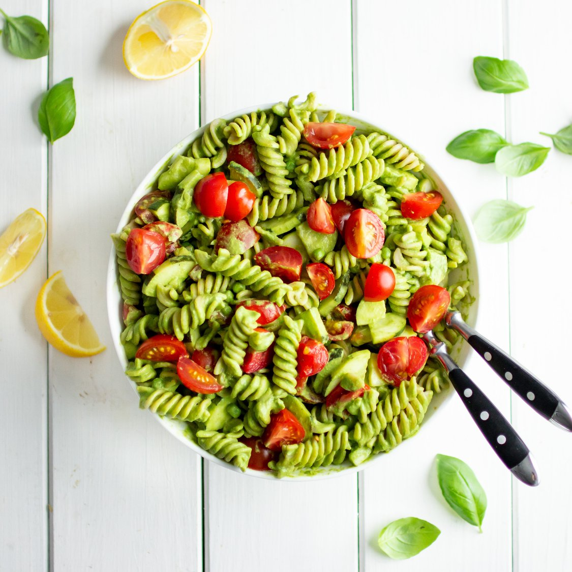 Pasta Pesto mit Zucchini