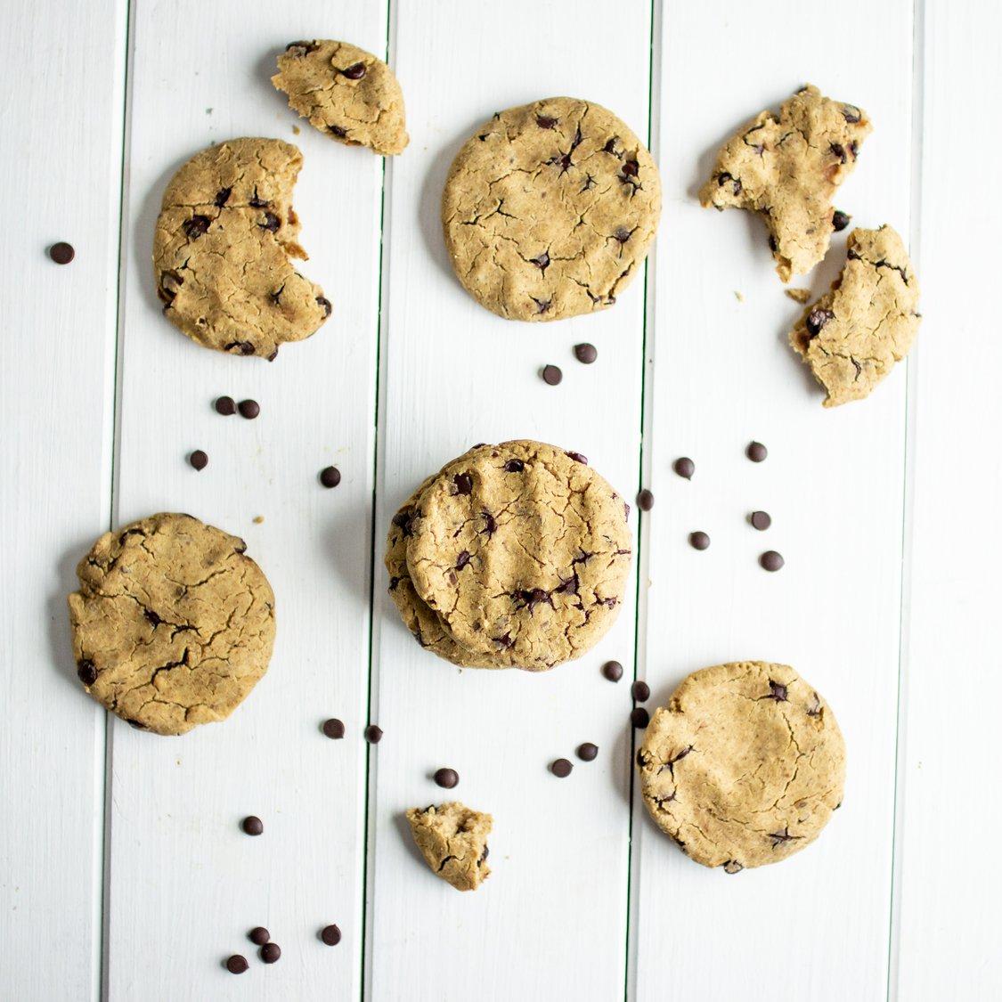 Protein Schokocookies